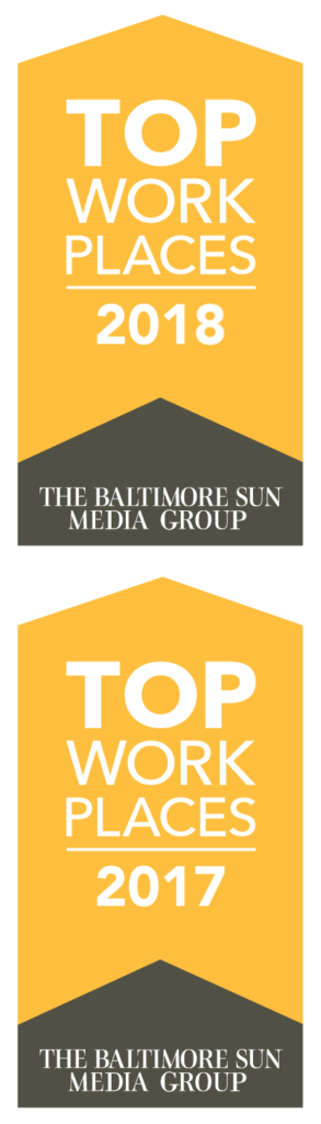 Baltimore Sun Top Workplaces 2017 & 2018 Banners