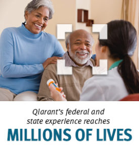Qlarant's federal and state experience reaches millions of lives