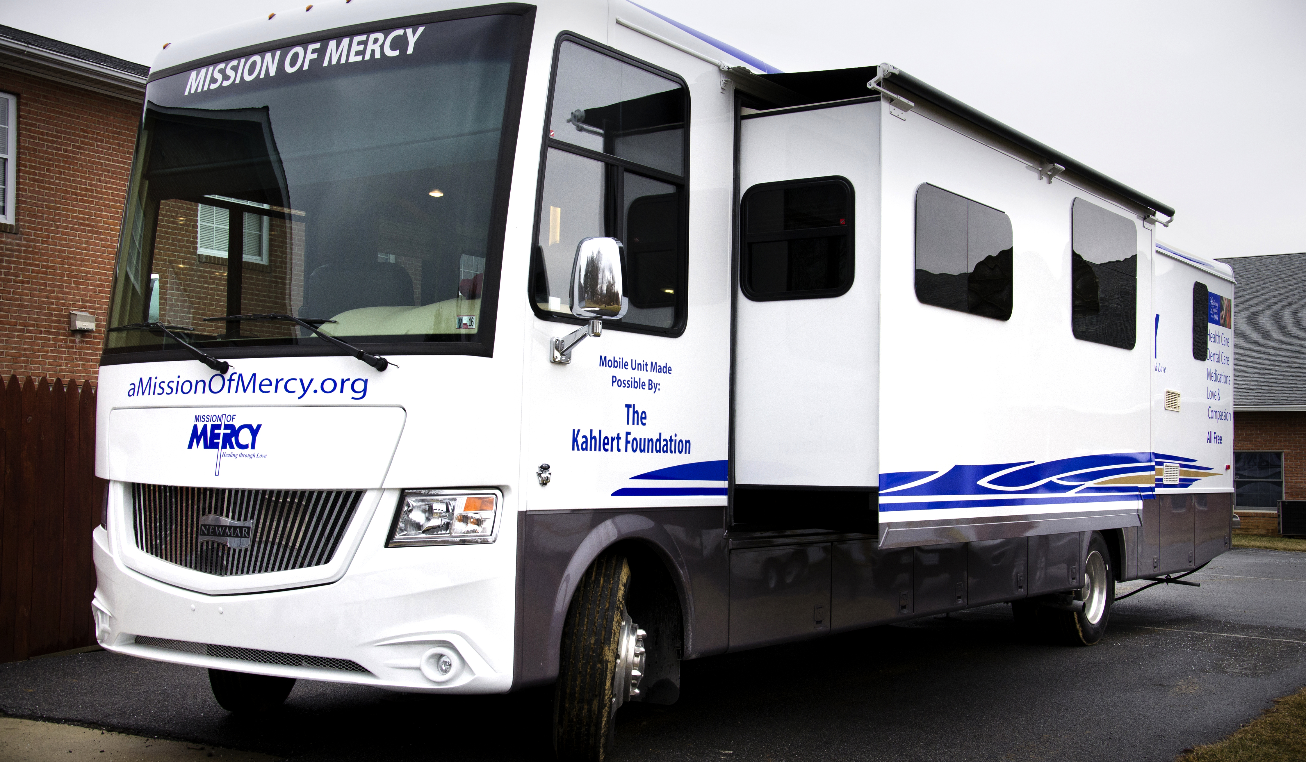 The Mission of Mercy mobile clinic