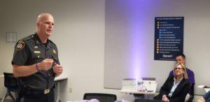 Sheriff Joe Gamble Speaking at Qlarant