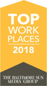 Top Work Places 2018 Badge