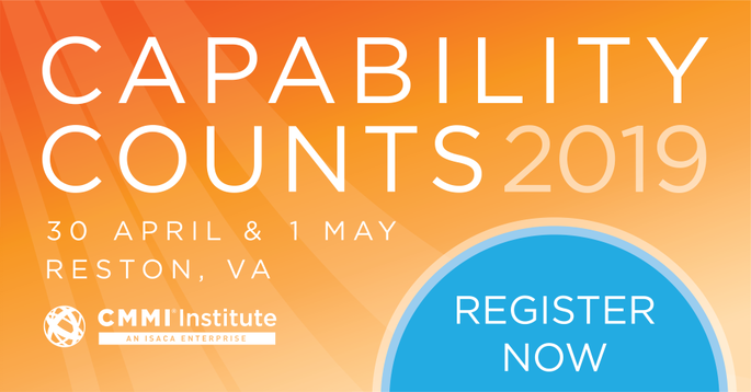 CMMI Capability Counts 2019 banner