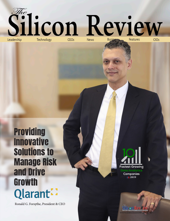 Silicon Review Magazine cover with Ron Forsythe