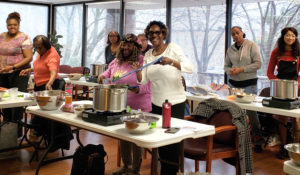 Cooking skills class