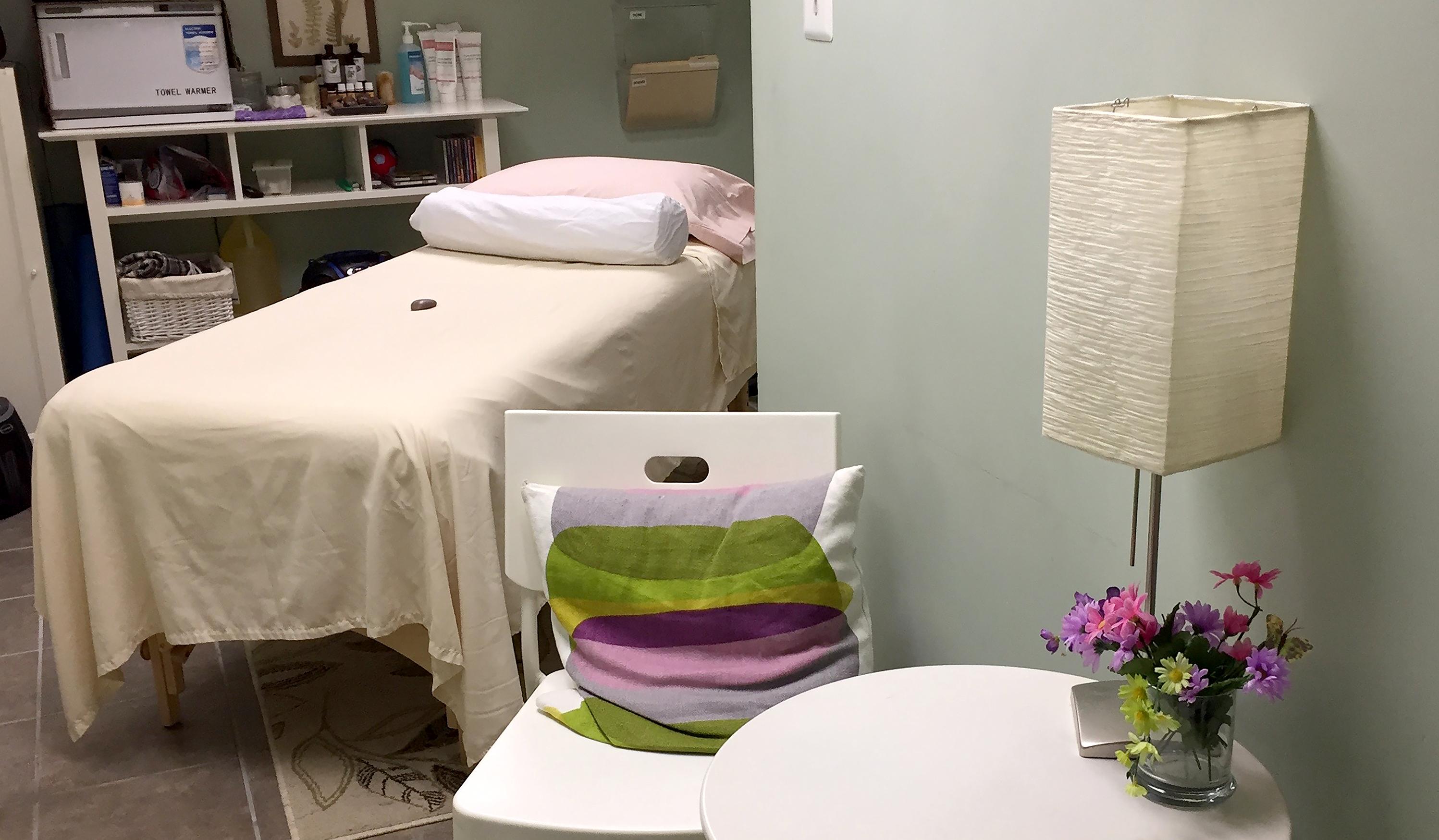A wellness room