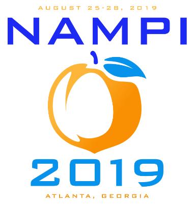 NAMPI 2019 Peach logo