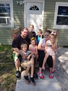 Josh, Chrissy, and their 5 children