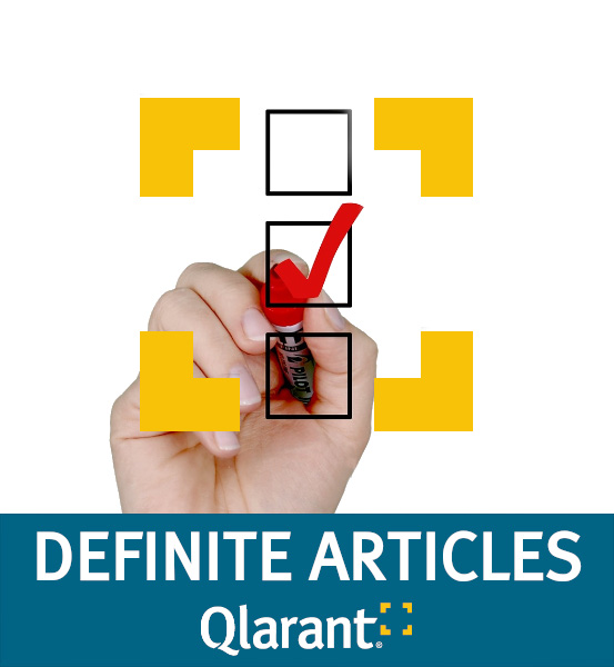 Definite Articles blog logo