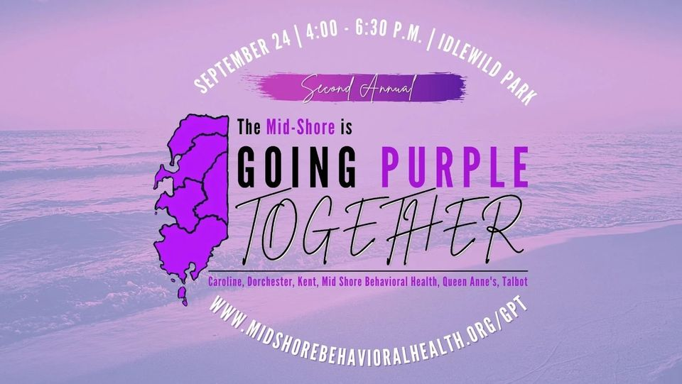 Going Purple Together logo