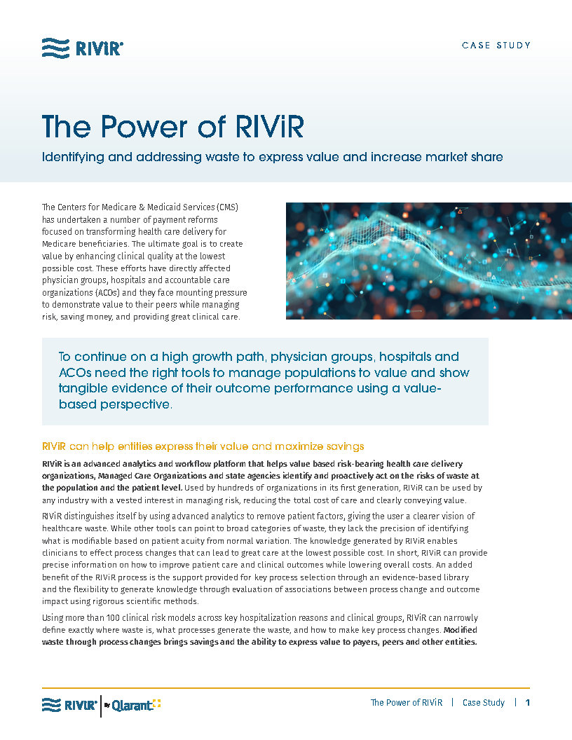 The Power of RIViR Case Study Cover
